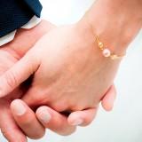 bracelet mariage romantique