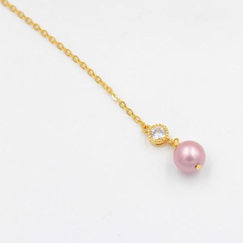 Bijoux de dos mariage perle