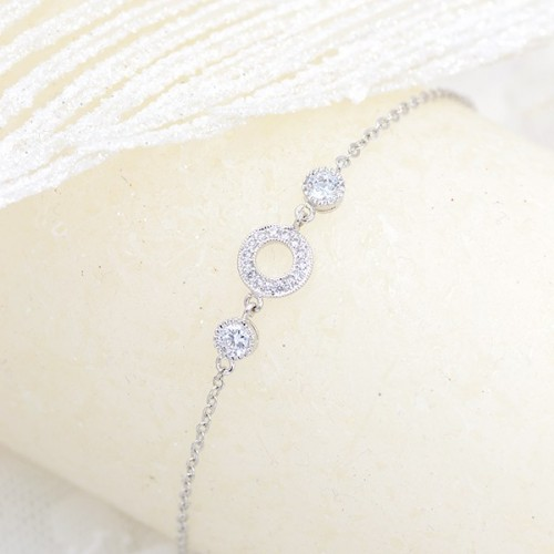 Bracelet de mariée Hélia