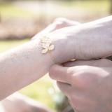 bracelet mariage Orchidée