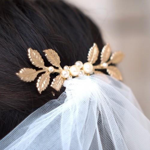 Peigne Mariée Perles Maiwen