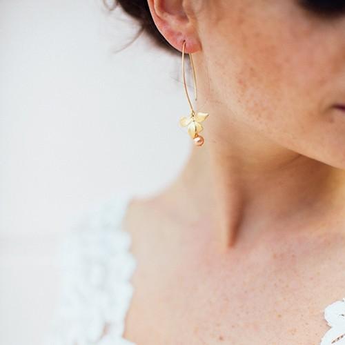 Boucles d'oreilles Mariage Juliette