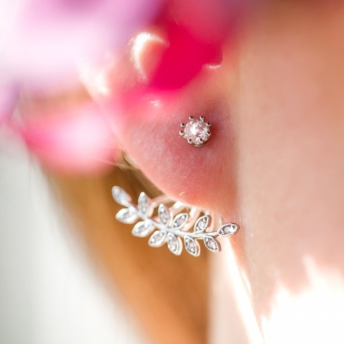 Boucles d'oreilles mariage Paloma