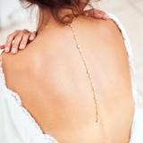 Collier de dos perle