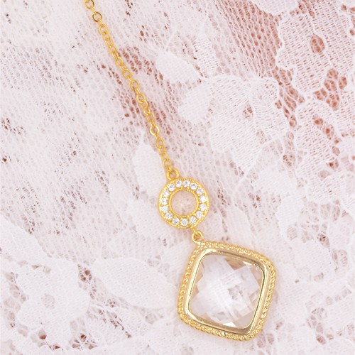 bijoux de dos mariage romantique