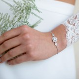 Bracelet de mariée strassé Colline