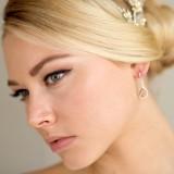 Boucles d'oreilles mariée Charlotte Couleur
