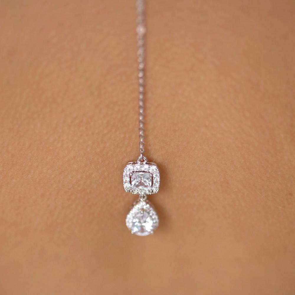 Bijou de dos mariage colline bijoux de dos bijoux for Robe pour mariage cette combinaison bijoux mariee
