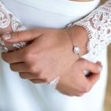 Bracelet de mariée strass Betane