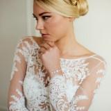 Bracelet mariage Strass Evanne