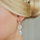 Boucles d'oreilles mariage Betane