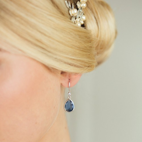 Boucles d'oreilles de mariée Gepsy