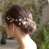 bijou de tête de Mariée vigna vigne cheveux