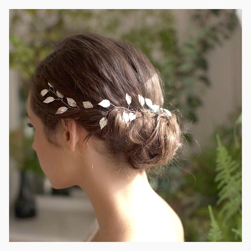 offrir des rabais 2019 professionnel variété de dessins et de couleurs Accessoires cheveux mariée, diadème mariage bohème, bijoux de tête
