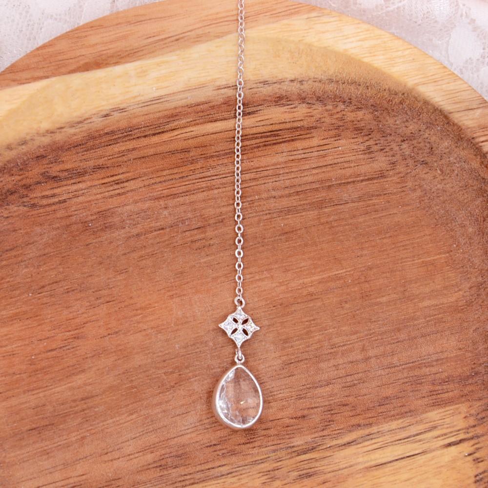 collier de dos loubna atelier sarah aime bijoux de dos accessoires. Black Bedroom Furniture Sets. Home Design Ideas