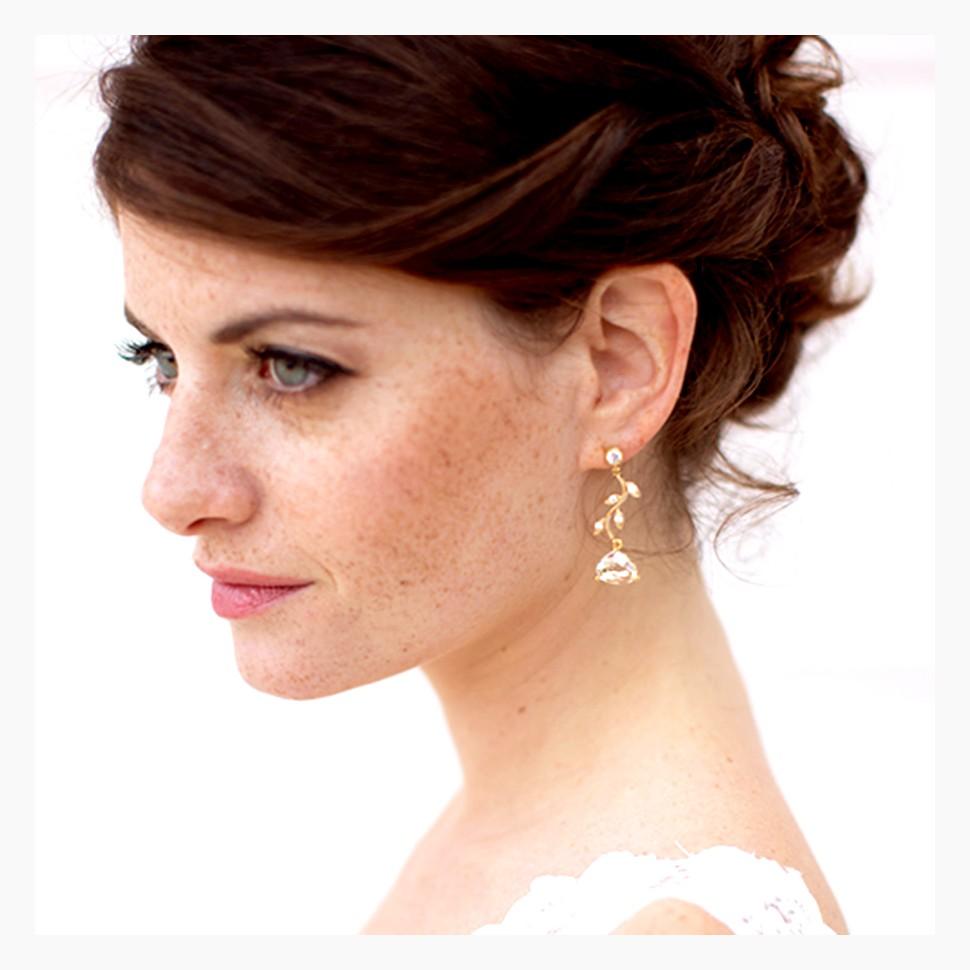 Boucles d'oreilles Mariage Bétina