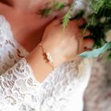 Bracelet mariée perles