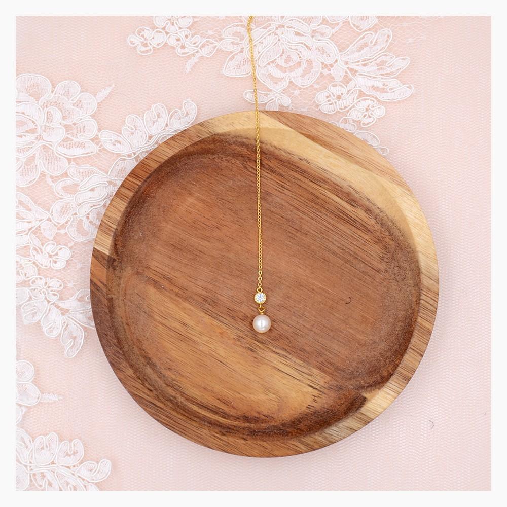 collier de dos manoh bijoux de dos mariage bijoux de dos perle. Black Bedroom Furniture Sets. Home Design Ideas