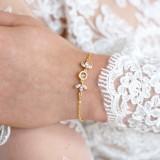 Bracelet mariage doré