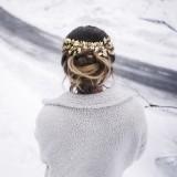 Peigne Mariée bohème