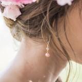 Boucles d'oreilles Mariée perle