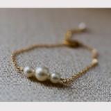 Bracelet mariage perle