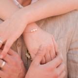 Bracelet mariage perles Camillia