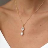 Collier de mariée perle