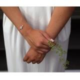 Bracelet mariée romantique
