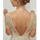 Bijou de robe doré