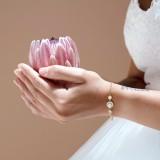 Bracelet mariée doré