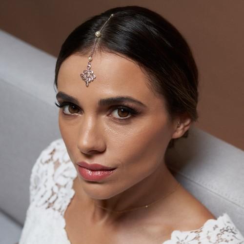 Tikka Bijou de cheveux mariée Sadiva