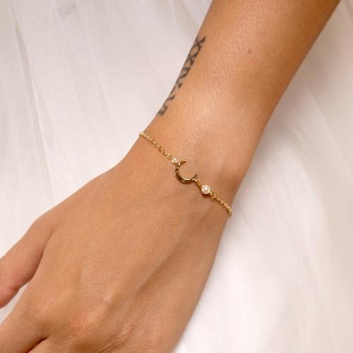 Bracelet Mariée perle Luna