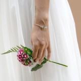 Bracelet mariée bleu