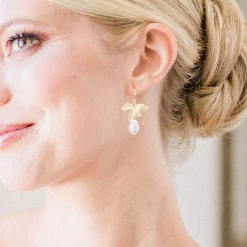 Boucles d'oreilles Mariage Synthia