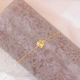 Bracelet mariée bohème doré