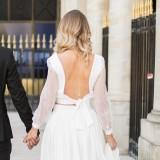 Collier de dos mariére