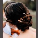 Pics à Cheveux Chloé rose gold
