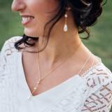 Collier de mariée perle SAYA