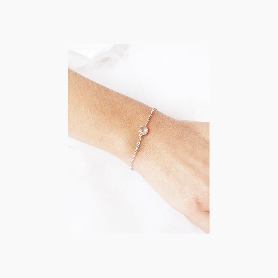 Bracelet mariage campagne chic