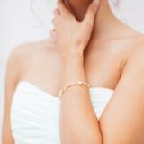 Bracelet mariage rose gold
