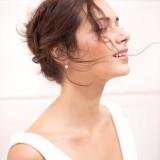 Boucles d'oreilles mariée perles