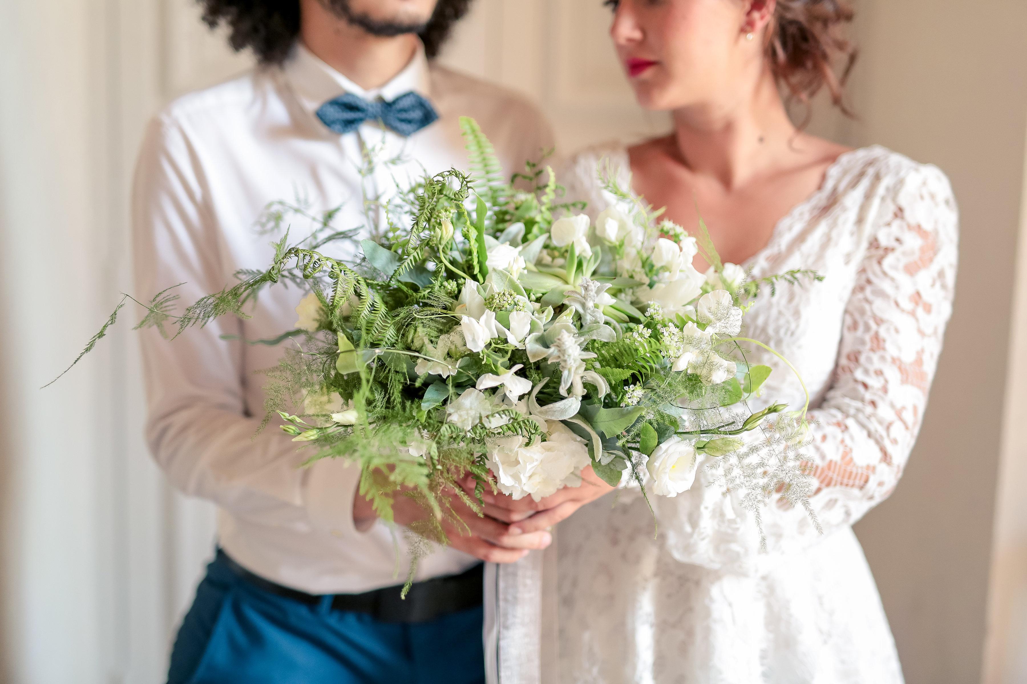 Couple mariage vegetal