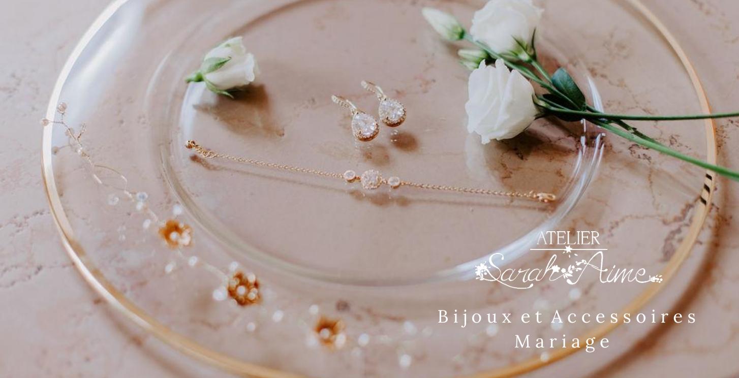 Bijoux et accessoires mariage