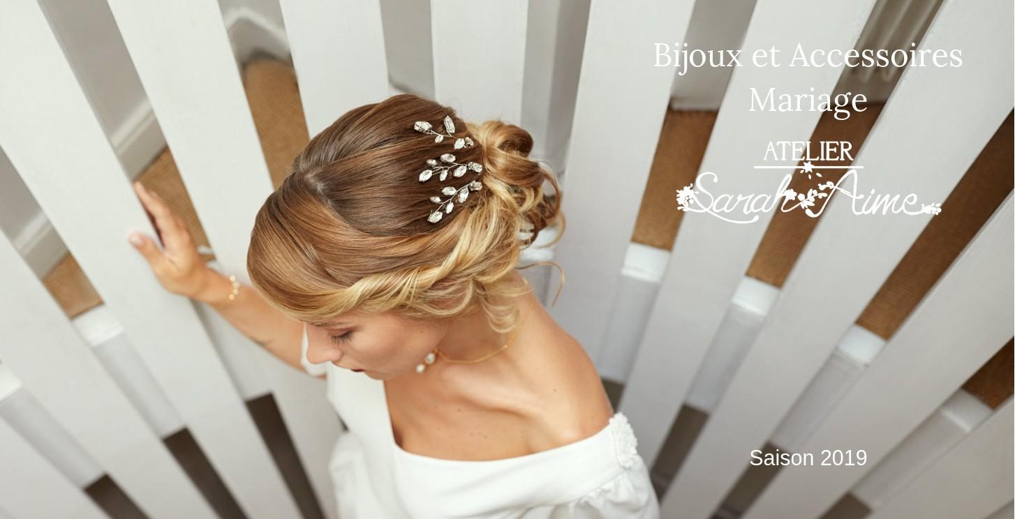 Bijoux mariage romantique
